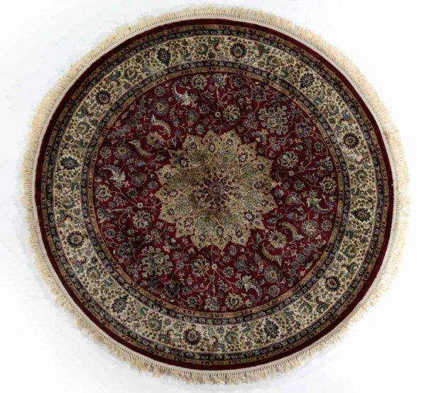 שטיח קלאסי עגול אדום