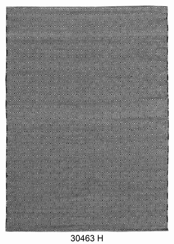 שטיח כותנה עבודת יד צבע אפור