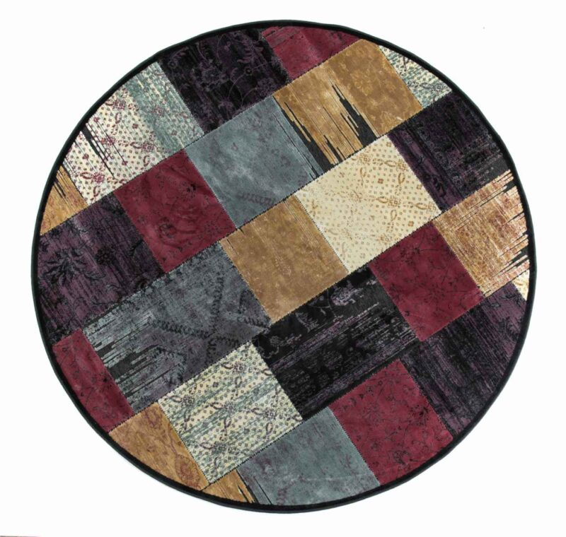 שטיח פאצ' עגול