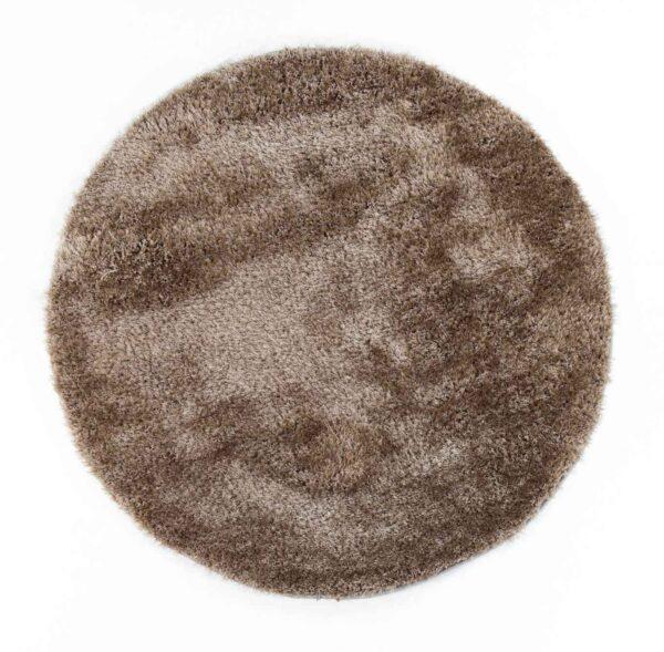 שטיח שאגי עגול בז'
