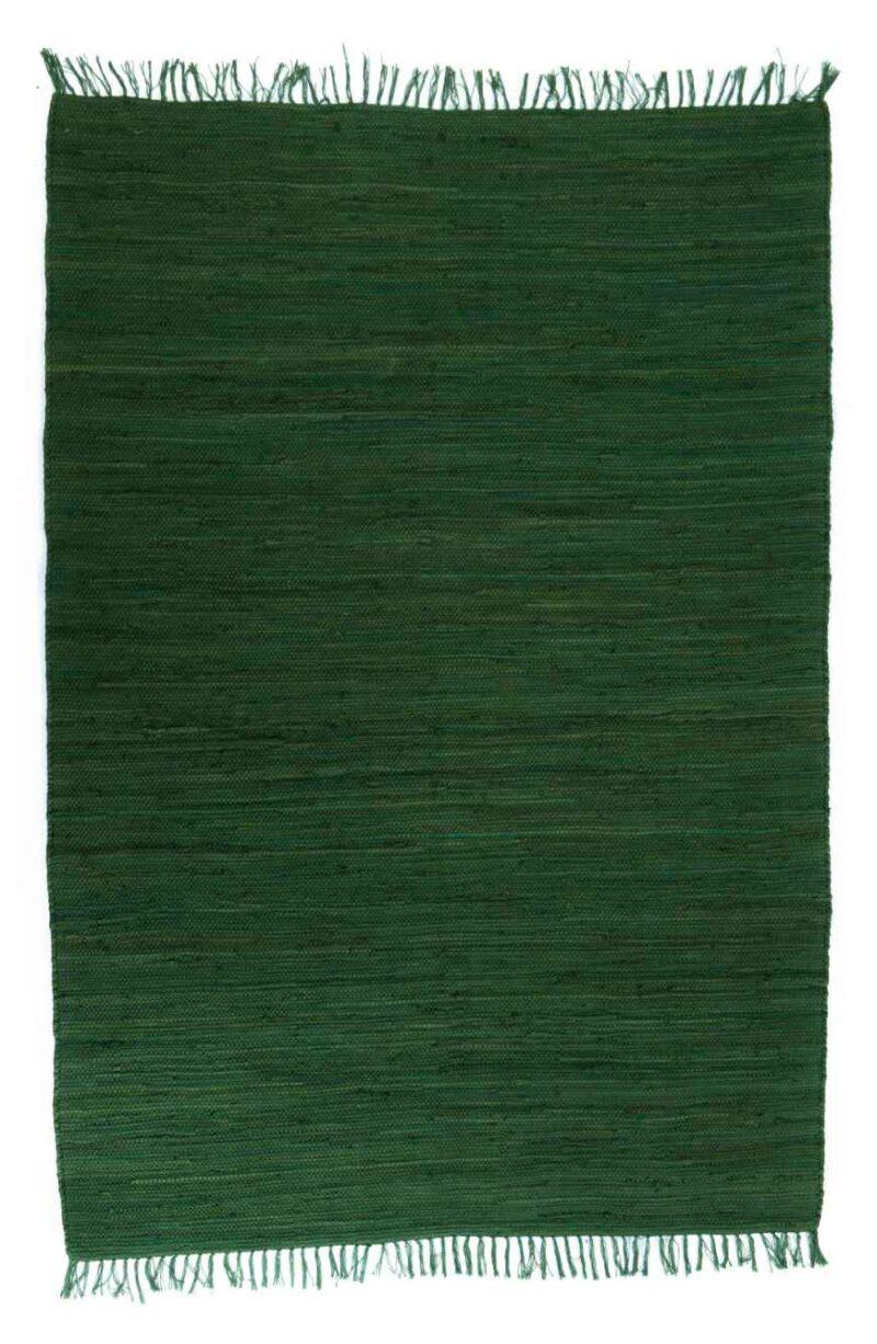 שטיח כותנה ירוק