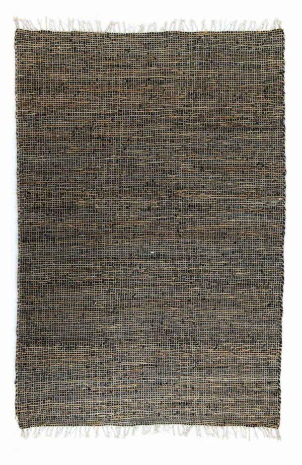 שטיח חבל דנים עור