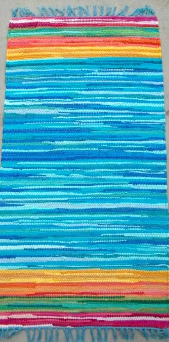 שטיח רוסה כחול