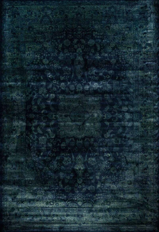 שטיח וינטייג' צבע כחול