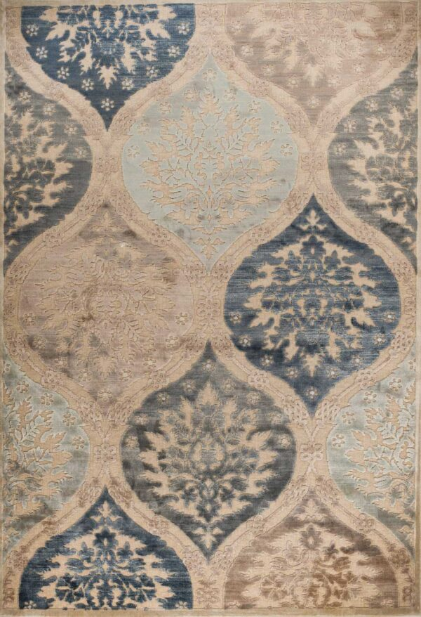שטיח מודרני בדוגמה קלאסית