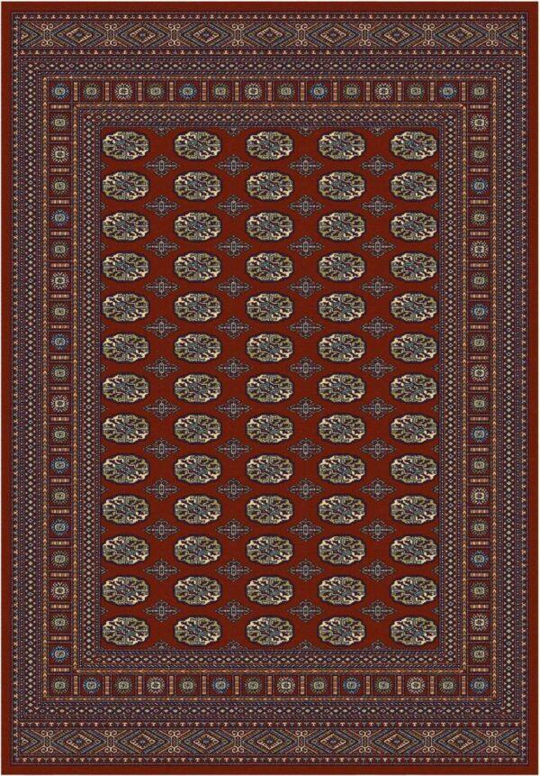 שטיח קלאסי דוגמת בוכרה אדום