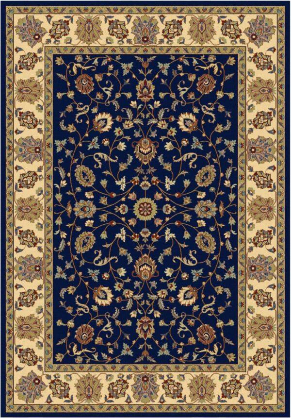 שטיח אוריינטל קלאסי צבע זהב שחור