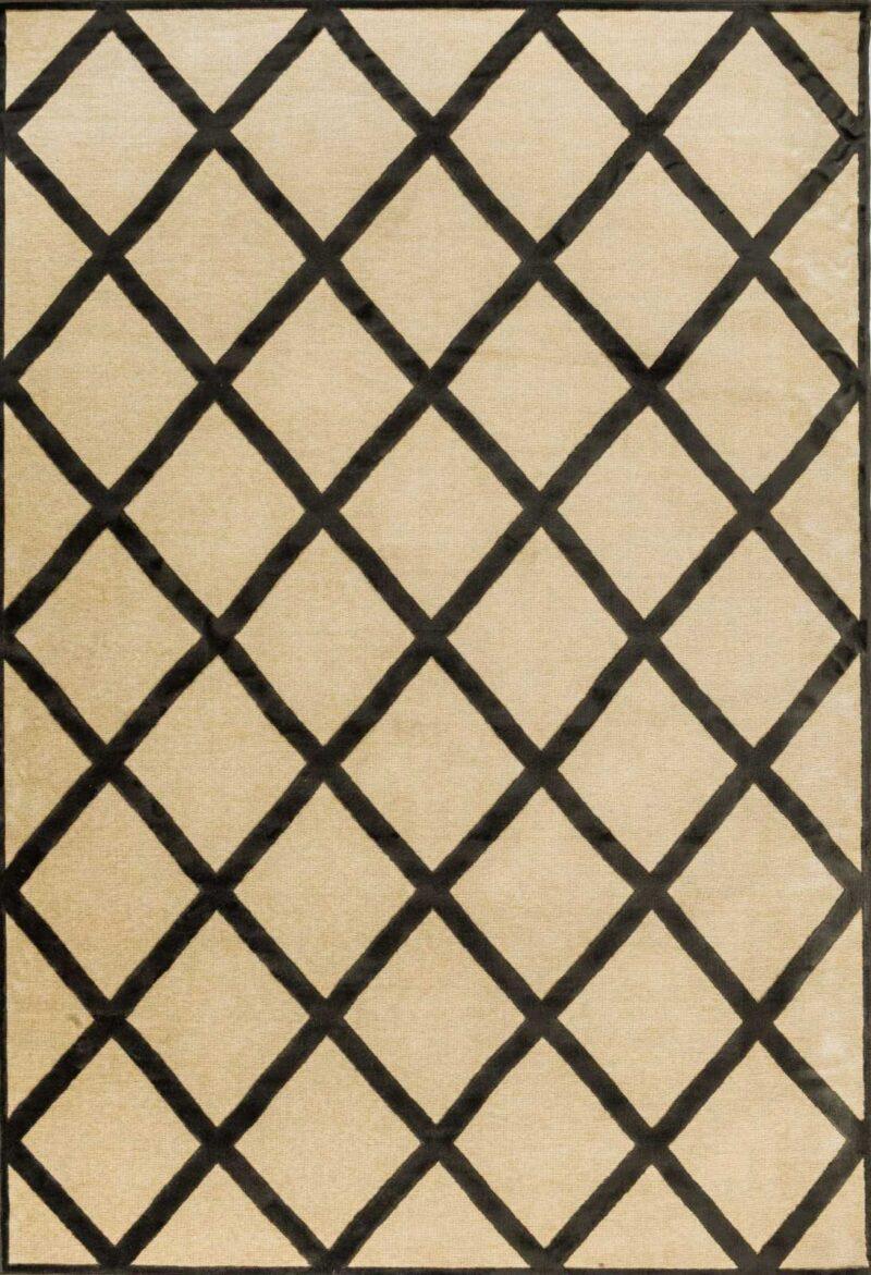שטיח מודרני גאונטרי בדוגמת מעויינים
