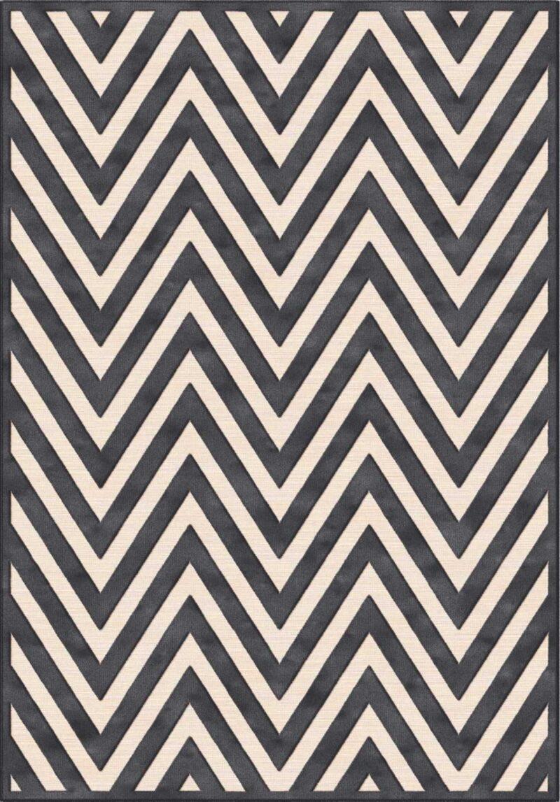 שטיח מודרני גאומטרי בדוגמת חצים