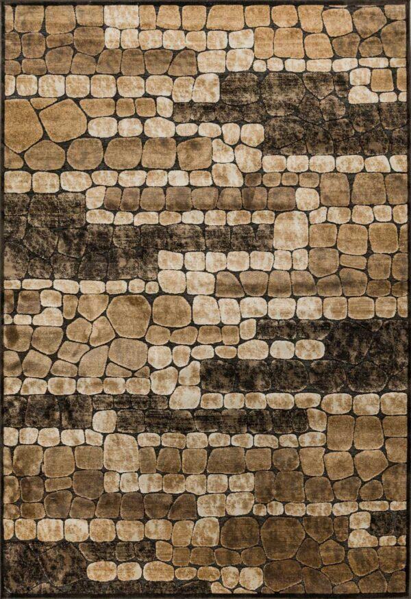 שטיח מודרני דוגמת נחלים