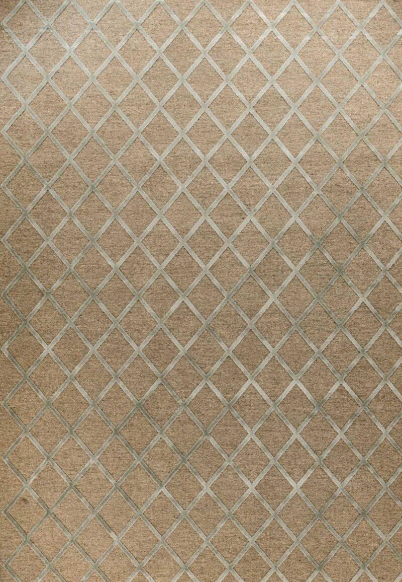 שטיח מודרני גאומטרי מעויינים