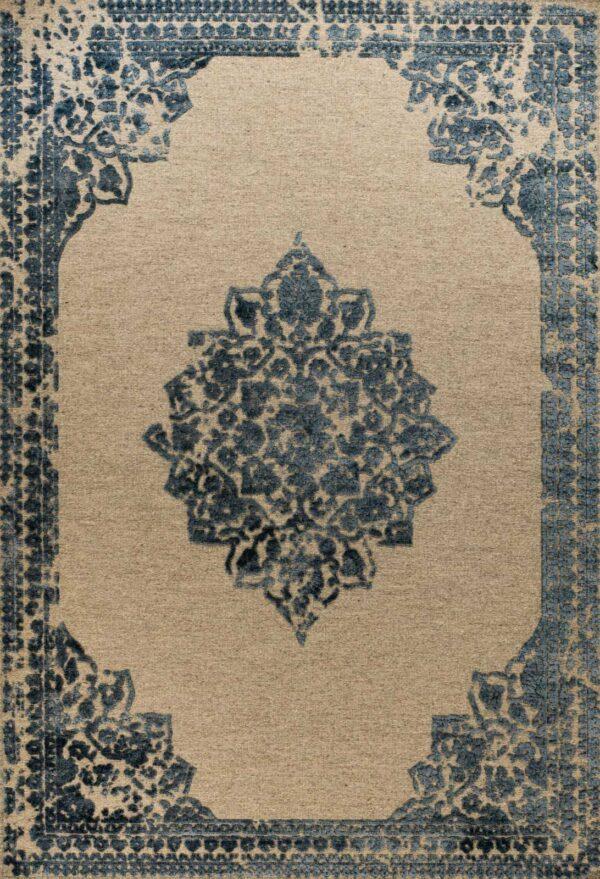 שטיח וינטאג' מדליון כחול