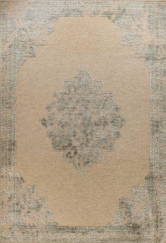 שטיח וינטייג' מדליון אפור