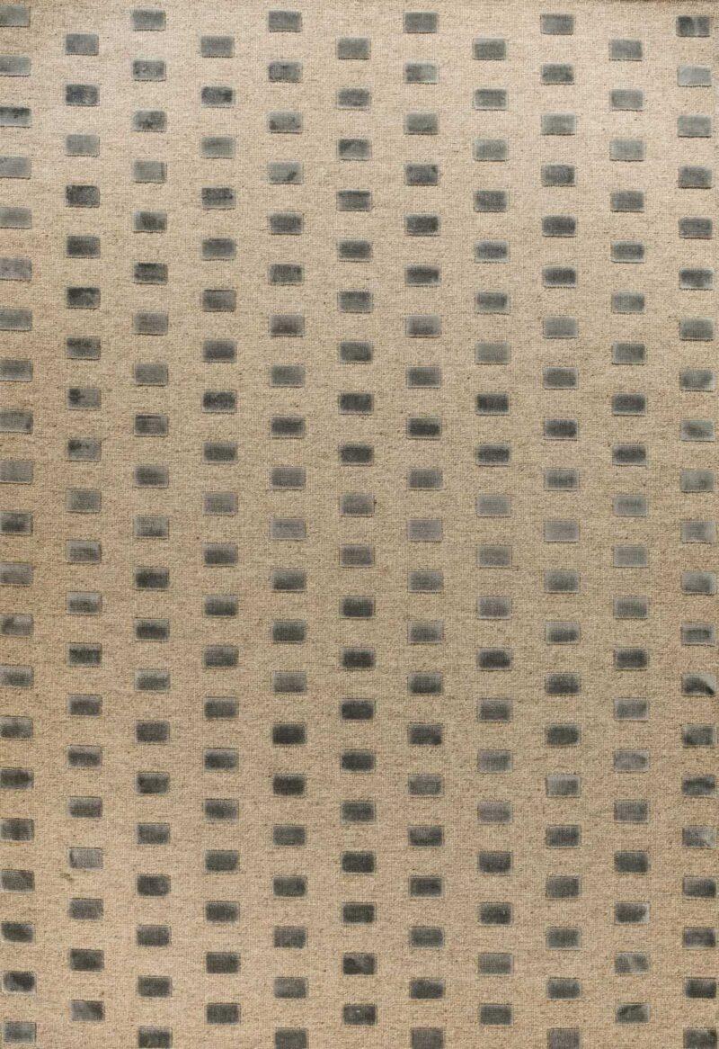 שטיח גאומטרי דוגמת ריבועים קטן