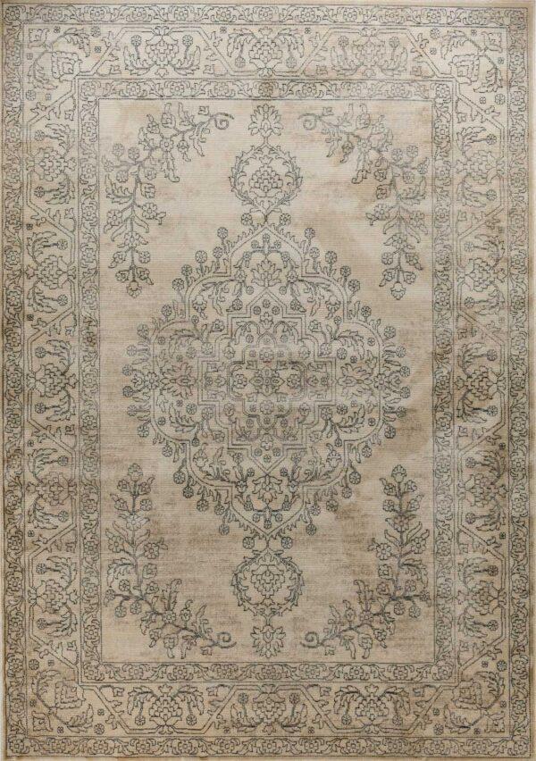 שטיח בדוגמת וינטאג' מדליון