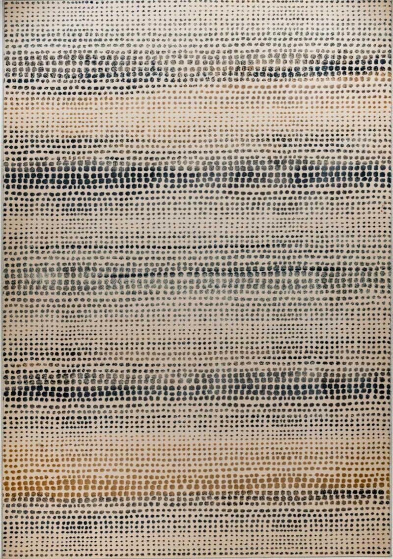 שטיח מודרני דוגמת נקודות חום