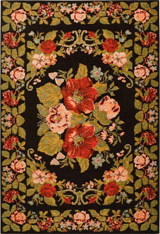 שטיח מודרני צבעוני