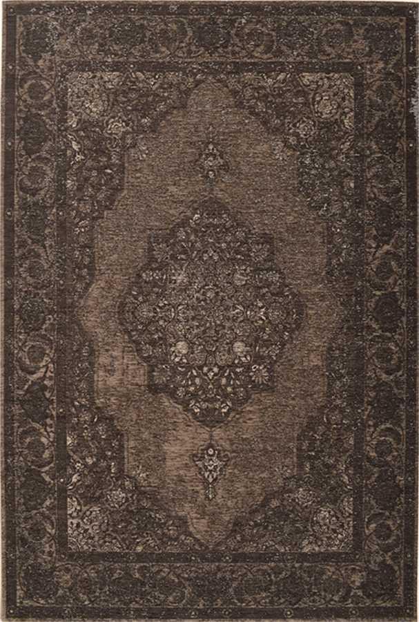 שטיח דוגמת וינטיג' אפור