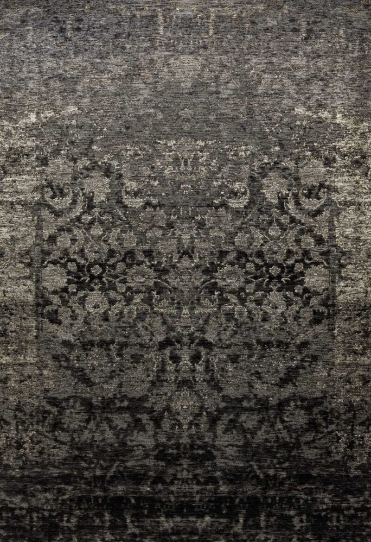 שטיח קרלוצ'י וינטייג' פרחים אפור