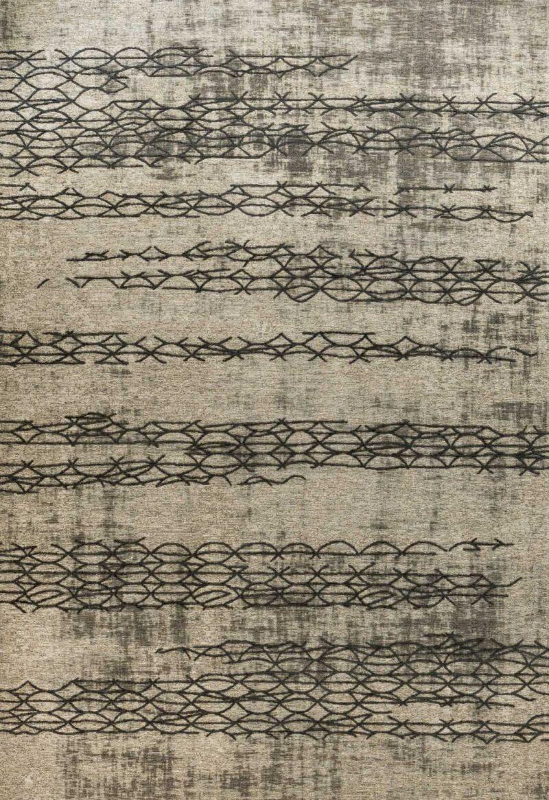 שטיח אופל חוטים אפור חברת קובנטקס הבלגית