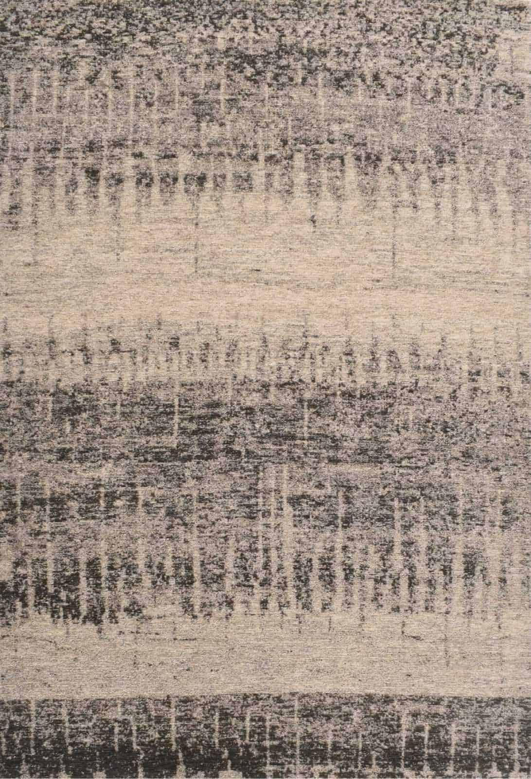 שטיח מודרני צבע אפור דוגמה אבסטרקטית