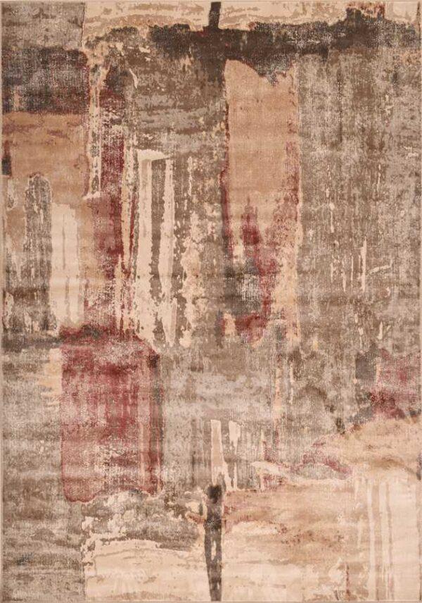 שטיח וינטג' צבע חום אדום