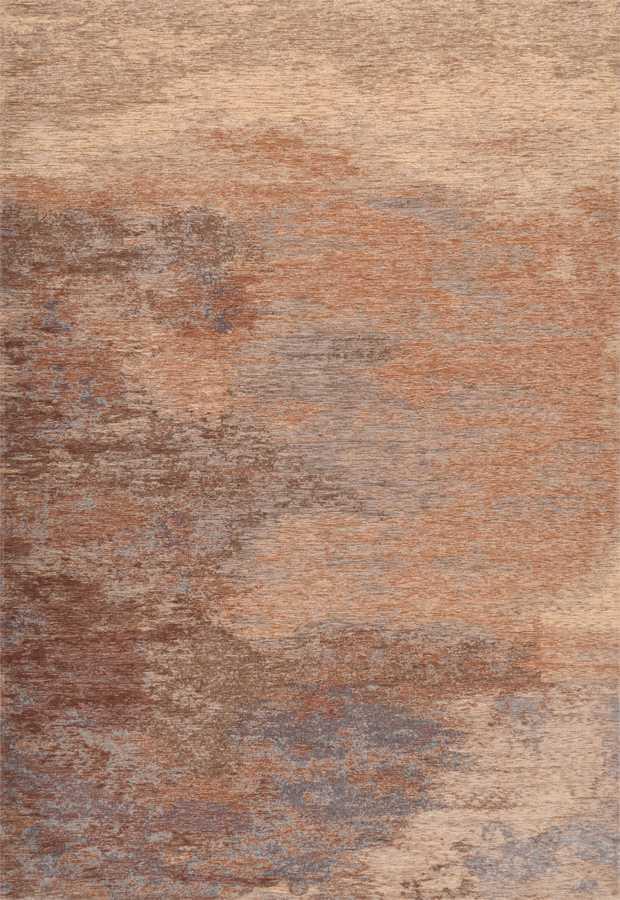 שטיח מודרני צבע כתום בהיר