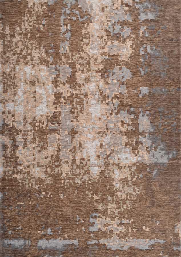 שטיח מודרני חום כחול