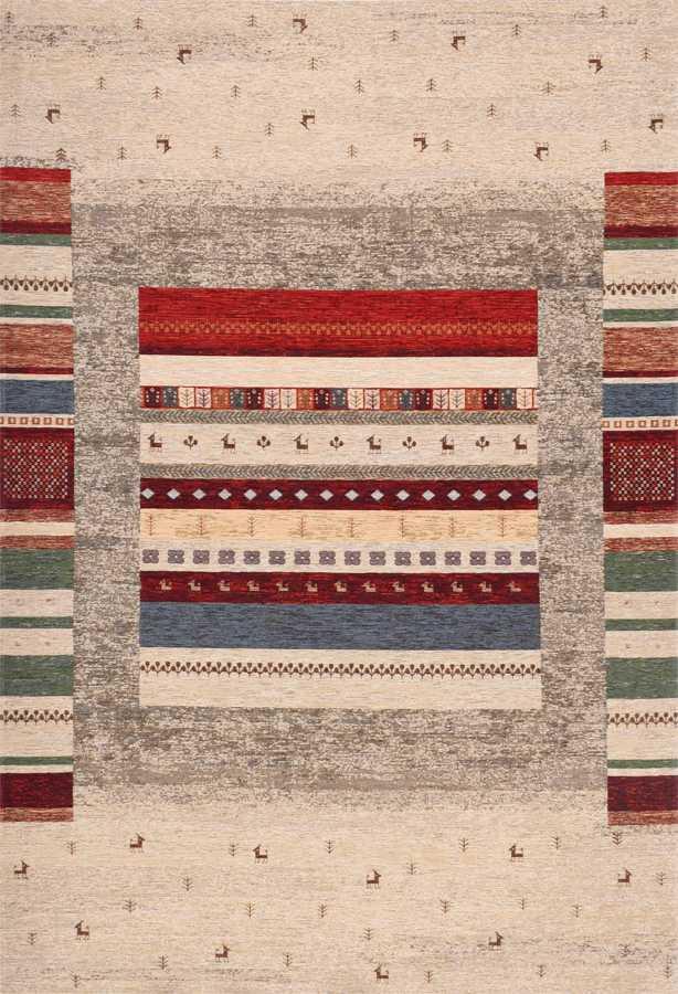 שטיח קרלוצ'י לובו צבעוני