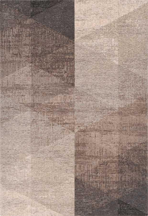 שטיח מודרני גיאומטרי אפור