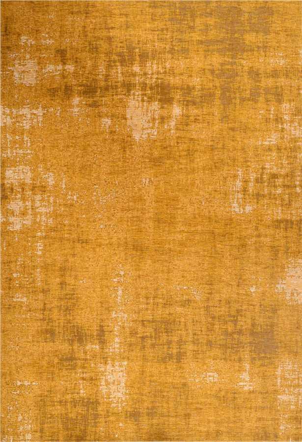 שטיח מודרני צהוב בדוגמה אבסטרקטית