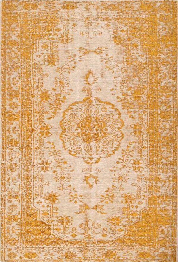 שטיח מודרני מדליון צבע גולד