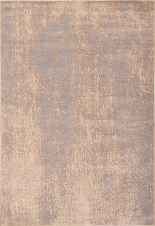 שטיח מודרני דוגמה אבסטרקטית בצבע בז'