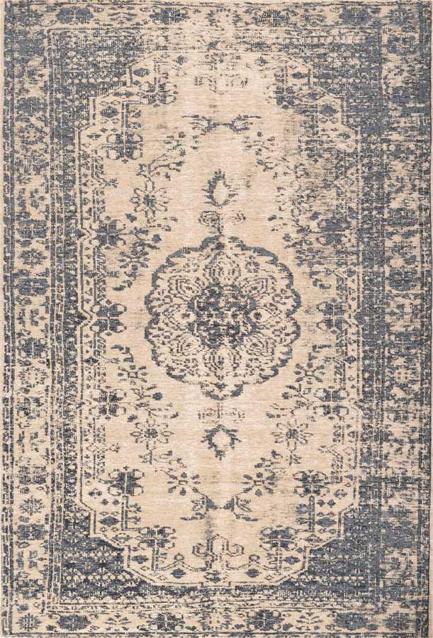 שטיח מודרני כחול דוגמה קלאסית