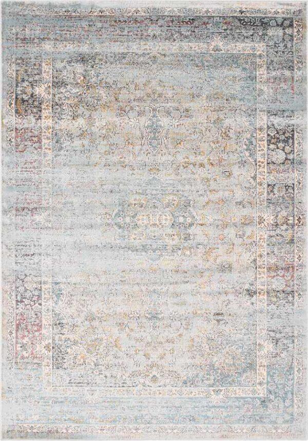 שטיח וינטייג' אפור דוגמה קלאסית