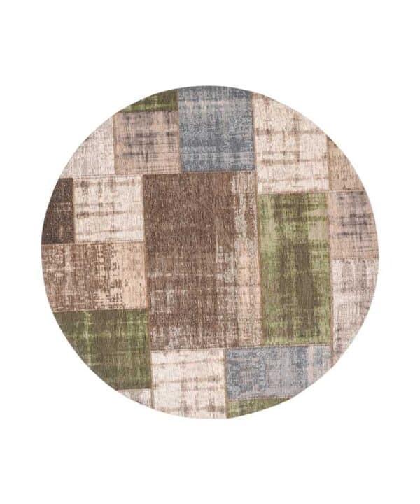 שטיח פאצ' עגול צבעוני