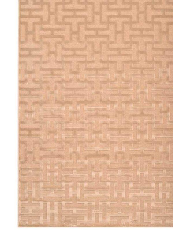 שטיח גאומטרי בז'