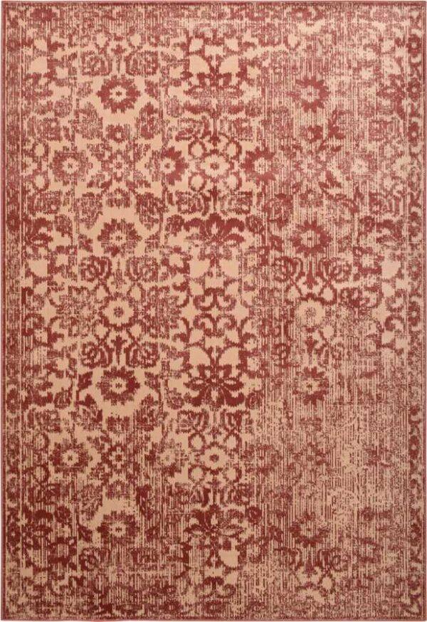 שטיח וינטייג' פרחים אדום