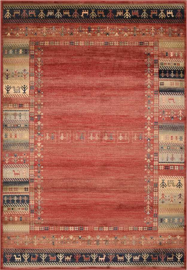 שטיח וינטיג' גבה אדום