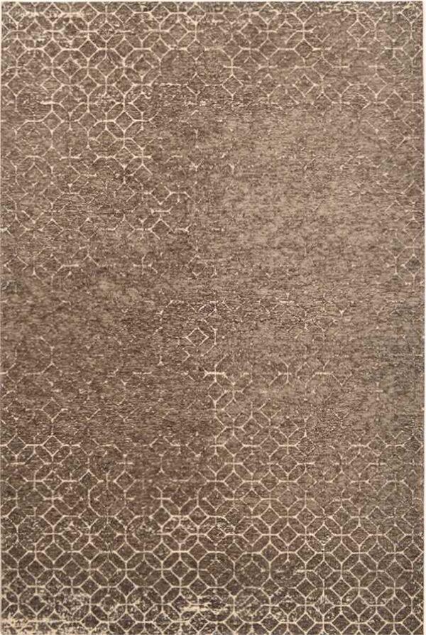 שטיח מודרני גיאומטרי חום
