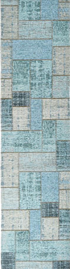 שטיח פאצ' טורקיז