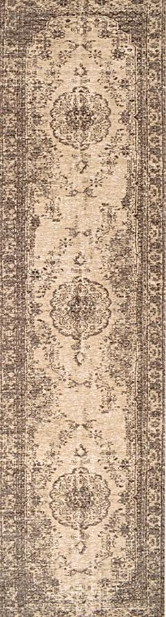 שטיח מודרני דוגמת קלאסית אפור