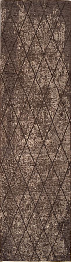 שטיח מודרני גאומטרי אפור