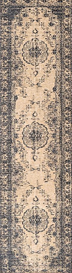 שטיח וינטייג' דוגמת קלאסית צבע כחול