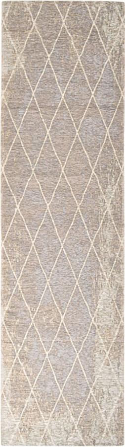 שטיח מודרני גאומטרי כסוף