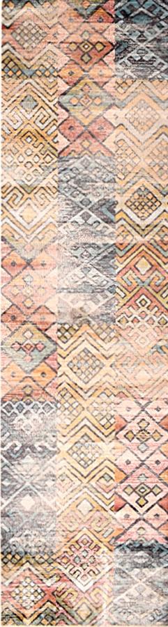 שטיח וינטייג' מודרני צבעוני