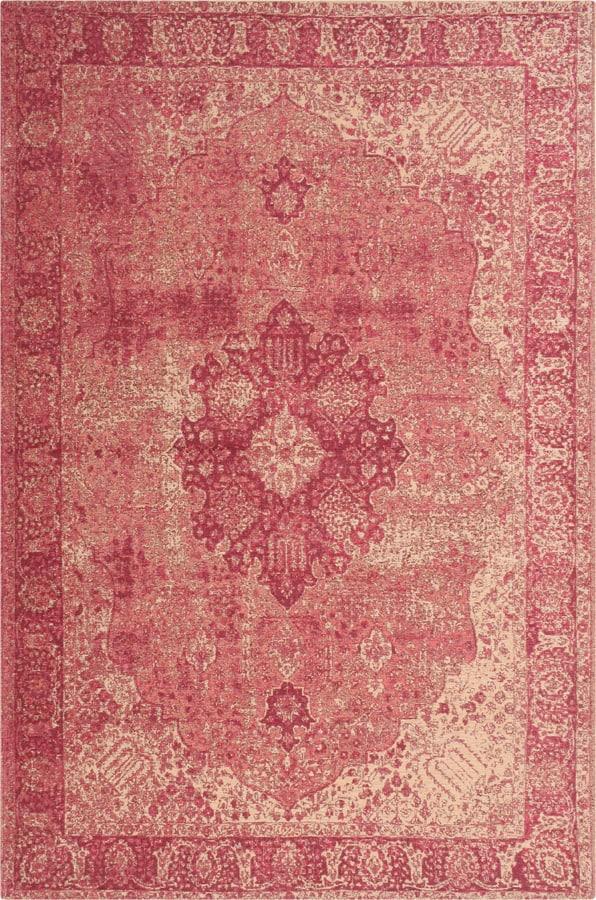 שטיח מודרני וינטייג' ורוד