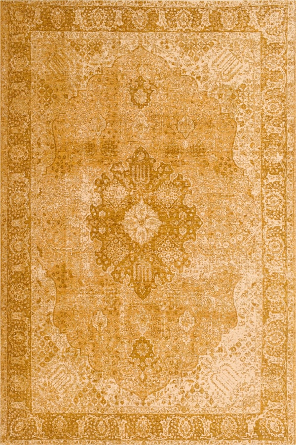 שטיח מודרני וינטייג' צהוב