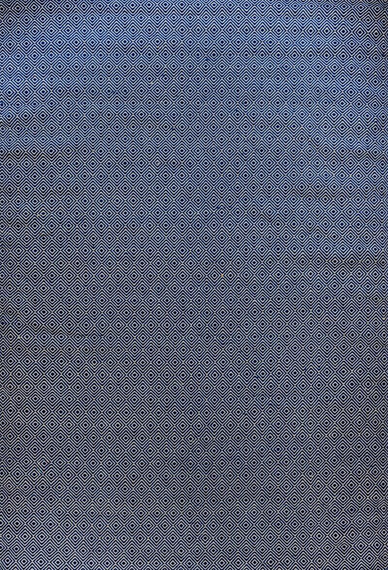 קילים כותנה כחול לבן