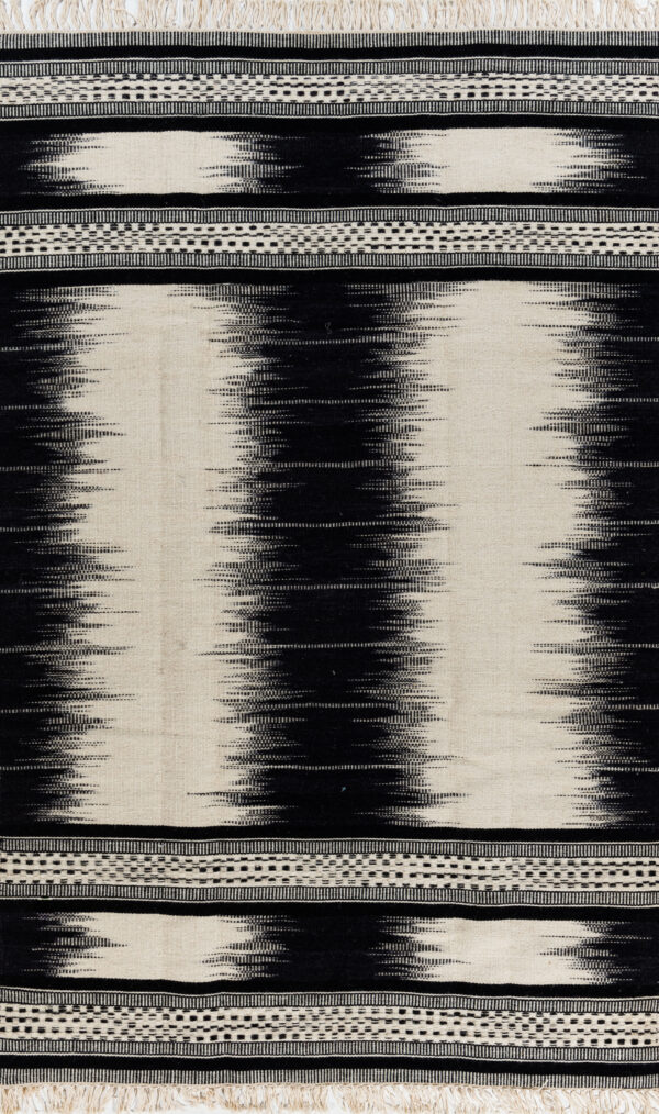 קילים צמר שחור לבן